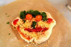 Pizza bakken in groep4