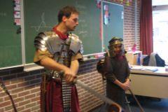Romein op bezoek in groep 6