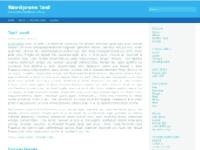 Het thema dat aan de basis van deze site ligt: Fluid Blue!