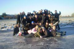 Groep8 on ice!