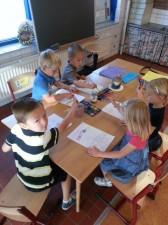 De eerste week op school0104