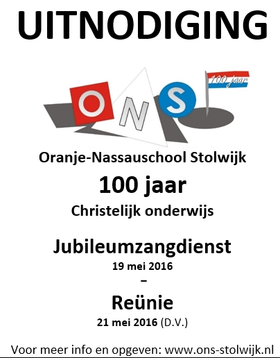 Jubileum advertentie