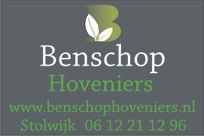 Sponsor Benschop Hoveniers