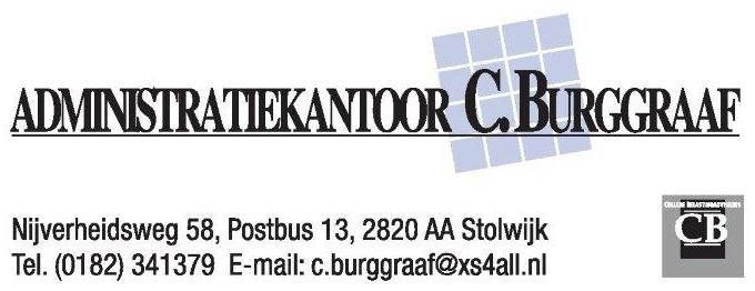 Sponsor Administratiekantoor C. Burggraaf