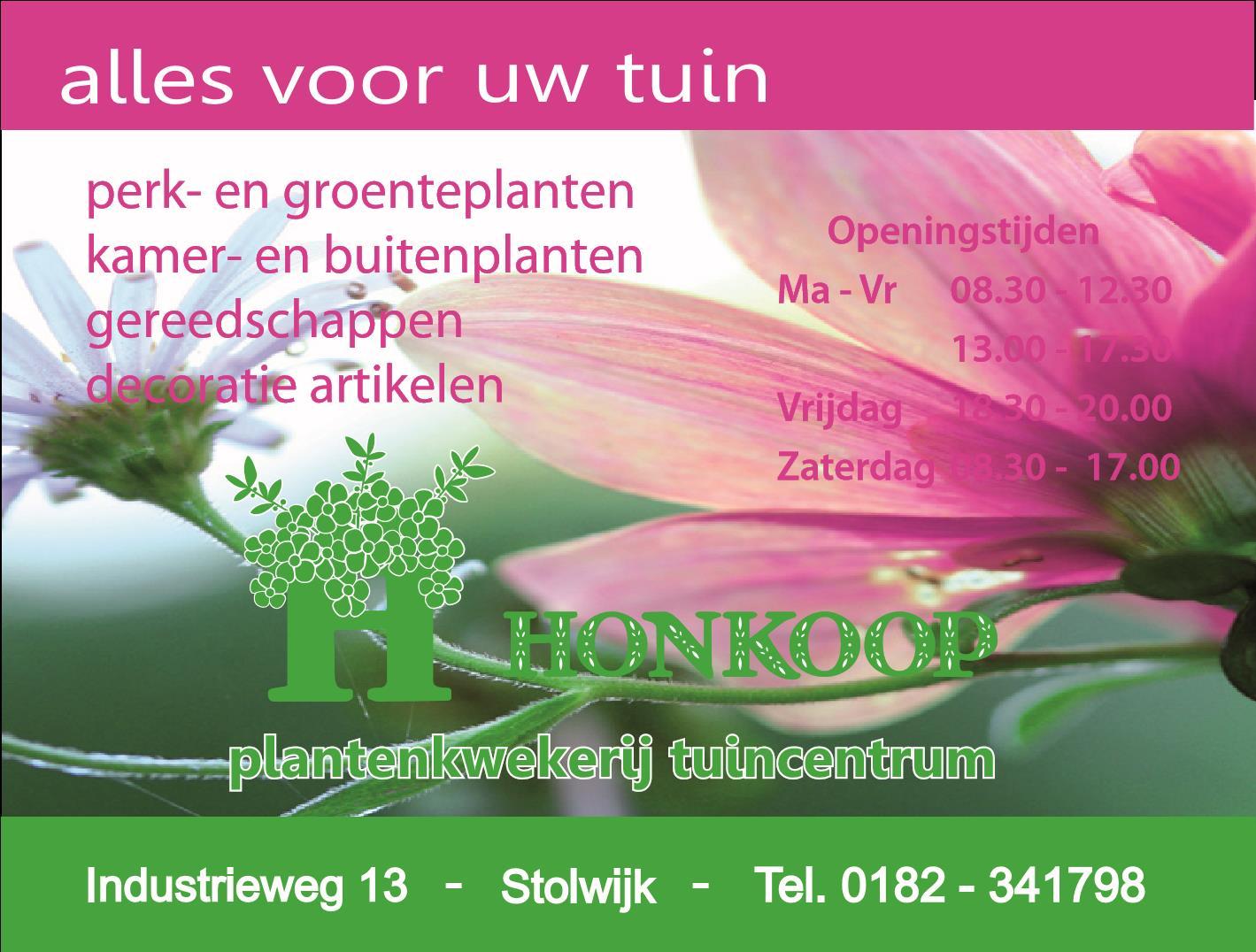 Sponsor Honkoop